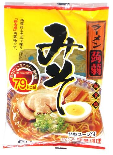 こんにゃくラーメン・みそ(味噌)味・24食【送...