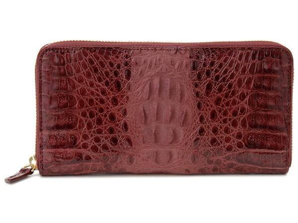 送料無料 超貴重なワニ革を贅沢に使った高級財布 ...