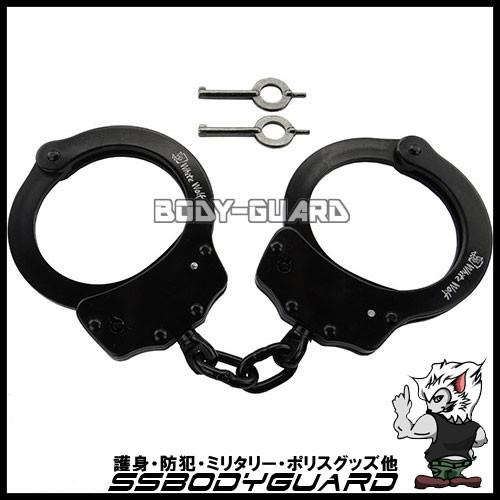 【手錠】ハンドカフ ダブルロック  ブラック