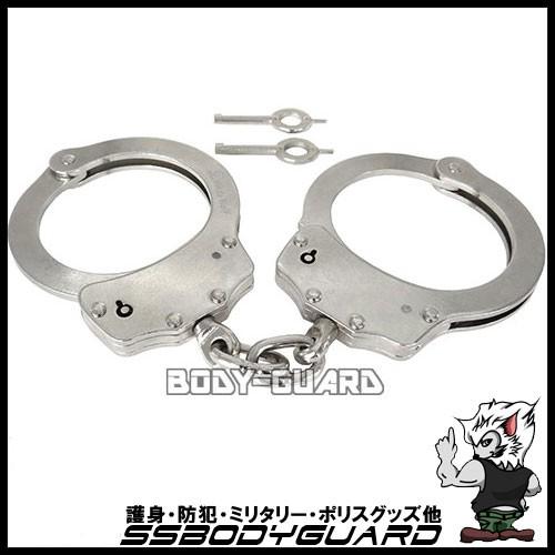 【手錠】ハンドカフ ダブルロック シルバー