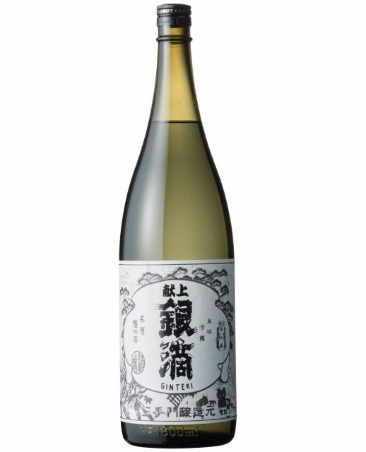(宅) 献上銀滴 20度 1800ml 芋焼酎 酒蔵 王...