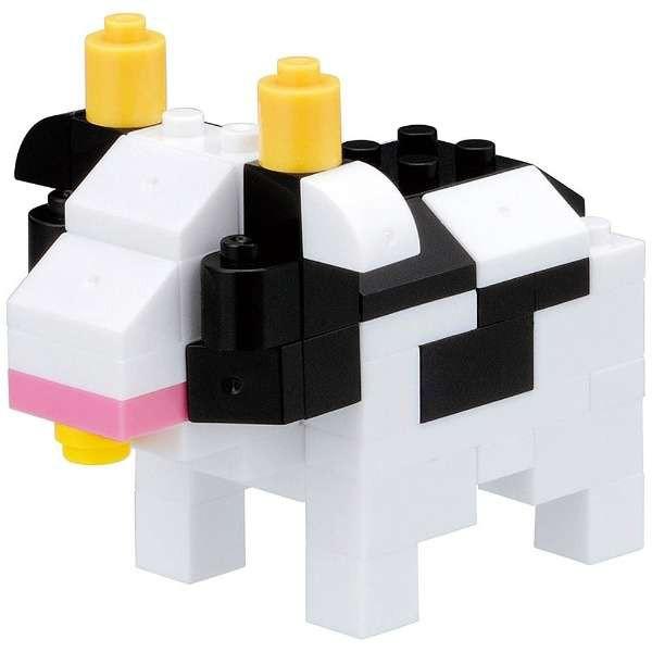 nano block+ ナノブロックプラス【PBM-001 ウシ】...