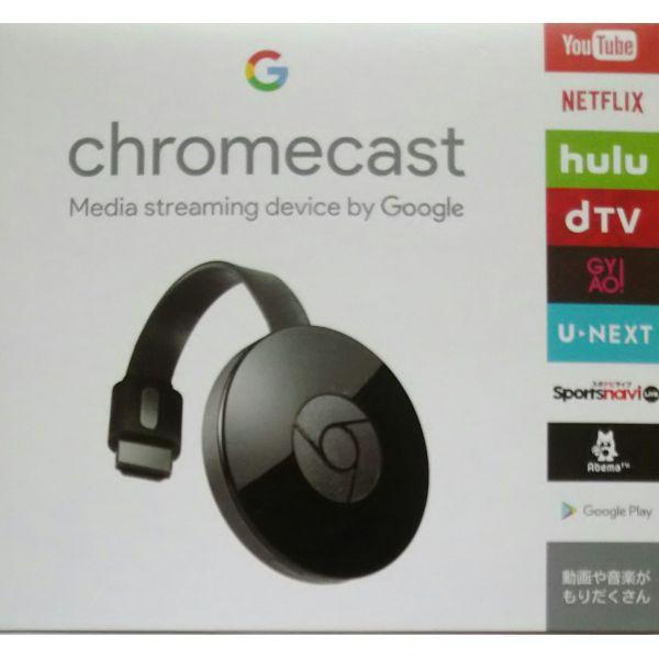 Google Chromecast GA3A00133A16Z01 ブラック グ...
