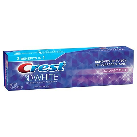 クレスト Crest 3D ホワイト 歯磨き粉 ラディアン...