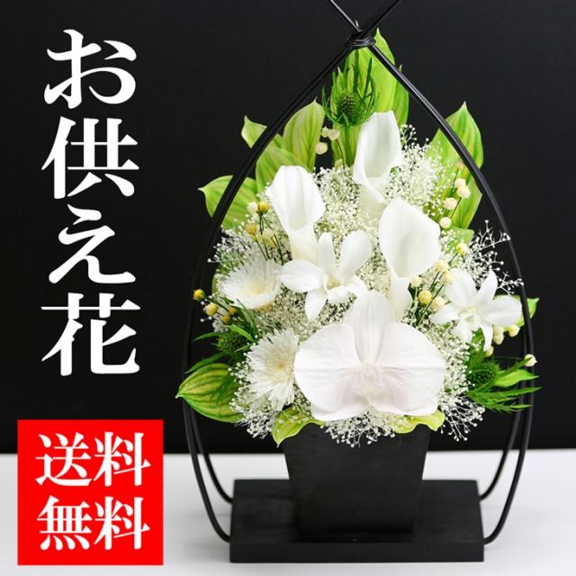 お供え花【1号サイズ胡蝶蘭カラー】 プリザーブド...