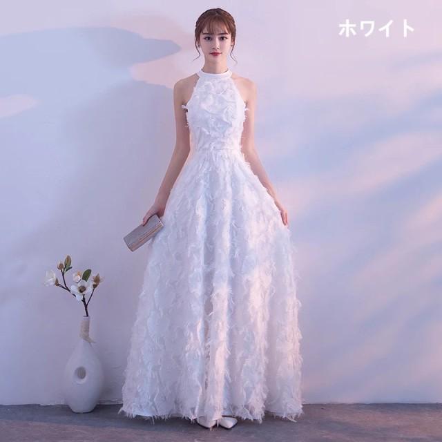 最新作 ロングドレス パーティドレス 舞台ドレス ...