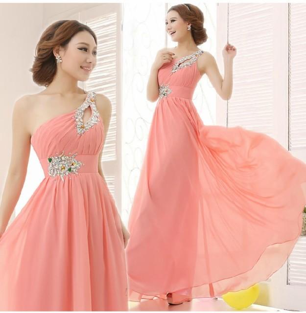 15色ロングドレス イブニングドレスエレガントゴ...