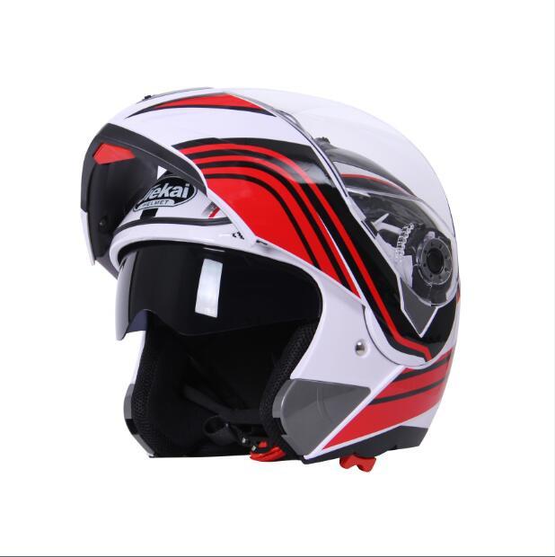 JIEKAI バイクヘルメット JK-105SY シールド付き ...