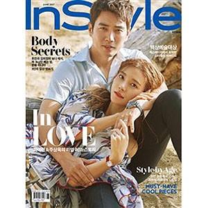 韓国女性雑誌 InStyle 2017年 6月号 (チュ・サン...