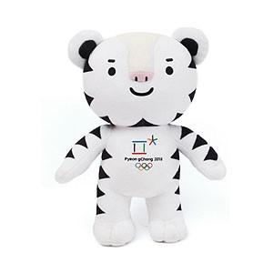 (先払いのみ) 韓国グッズ [2018年平昌オリンピック] 公式マスコット Soohorang スホラン ぬいぐるみ 30cm