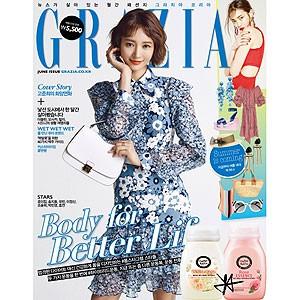 韓国芸能雑誌 GRAZIA(グラーツィア)2017年 6月...