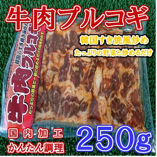 国内加工牛肉プルコギ(250g)/SALE/