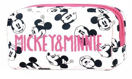 ディズニー/チェーン刺繍ペンポーチ/ミッキー&ミ...
