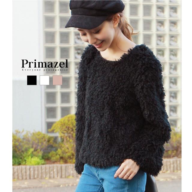 【Primazel/プリマゼル】全3色 くるくるファープ...