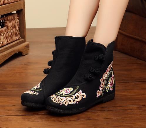 2点送料無料 秋冬 パンプス靴/刺繍靴 婦人靴 ...