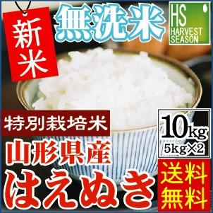 ★新米29年産★【送料無料】無洗米 特別栽培米 山...