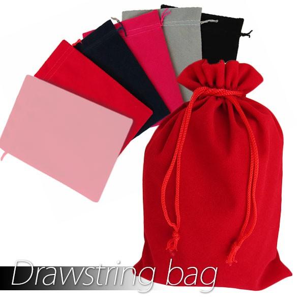 ベロア調巾着袋(001)【W_16】