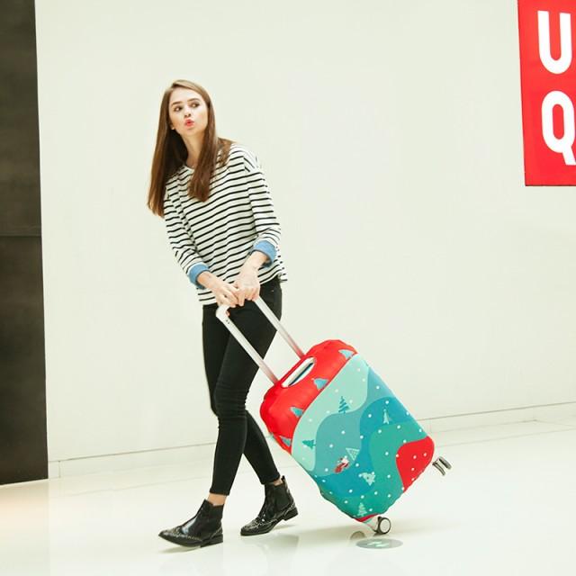 旅行用品 スーツケースカバー S M L XL 20-22/22-...