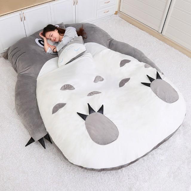 人気 畳ベッド 可愛い  アニメ 高品質 折りたたみベッド 柔かい ヘッドレス ソファー (シングル)