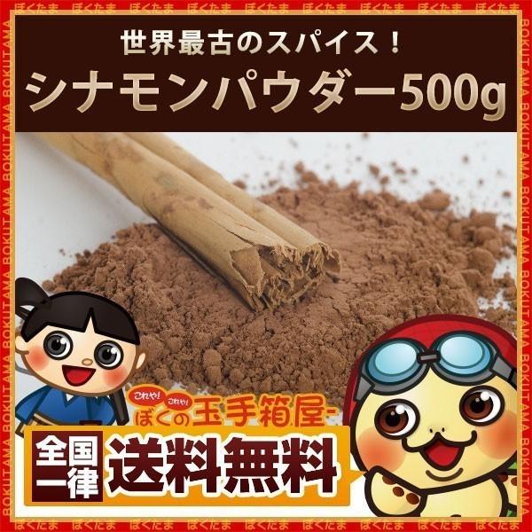 シナモン シナモンパウダー 粉末 500g 送料無料 ...