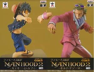 ▲ 【未開封】 ワンピース DXフィギュア MANHOOD2...