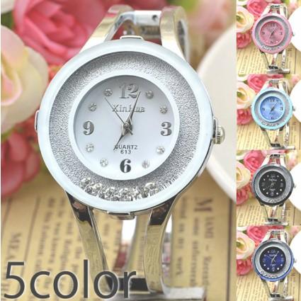 681bcac3bbdcc 腕時計 レディース レディース腕時計 バングルウォッチ キラキラ 安い おしゃれ プレゼント Jewel ジュエル ムーブストーン