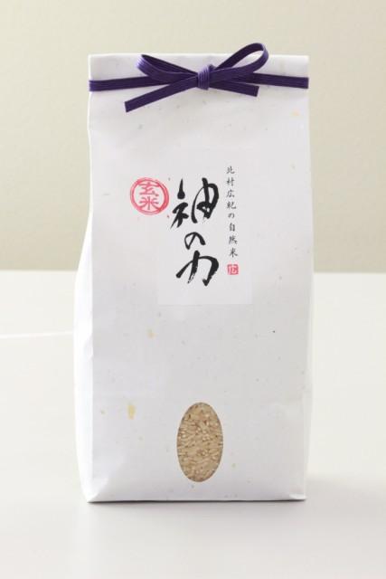 北村広紀の自然米「神の力」1kg(玄米)コシヒ...
