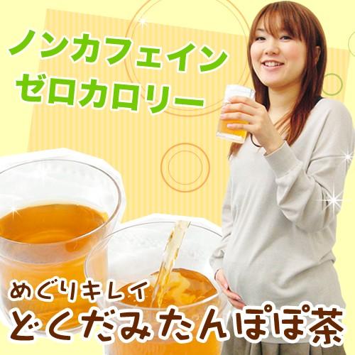 めぐりキレイ どくだみたんぽぽ茶 ポット用30個入...