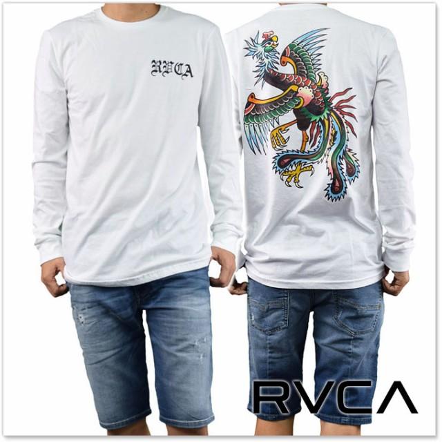 RVCA ルーカ メンズロングTシャツ BERT PHOENIX L...