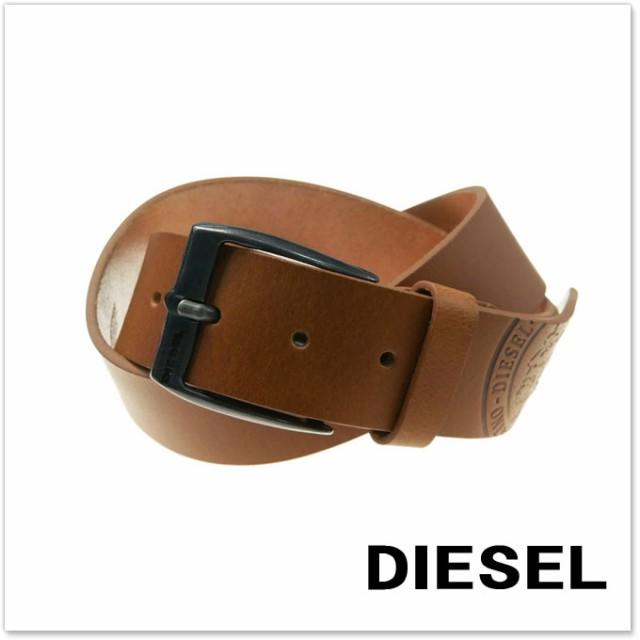 DIESEL ディーゼル メンズレザーベルト B-455 / X...