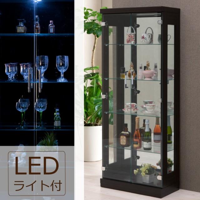 LEDダウンライト付き 幅60cm×高さ150cm コレクシ...