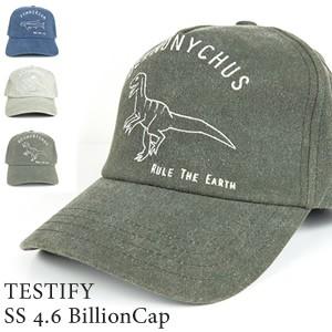 TESTIFY SS 4.6 BillionCap 刺繍キャップ