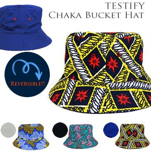 TESTIFY Chaka Bucket Hat  バケットハット リバ...