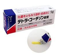 dai テトラコーチゾン軟膏  5g 化膿をとも...