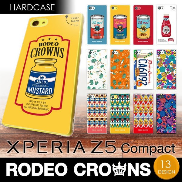 Xperia Z5 compact (SO-02H) 【RODEOCROWNS/ロデ...
