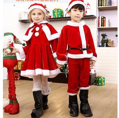 子供 4点セット サンタ衣装 サンタ コスプレ ワ...