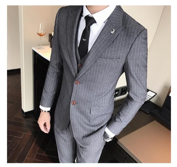 スリーピーススーツ紳士ビジネススーツスーツセッ...
