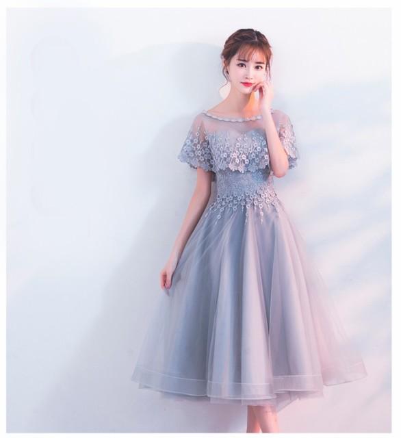 結婚式 ドレス  ロングドレス 演奏会 ドレス 二次...
