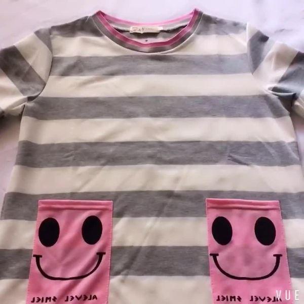 妊娠中女性 ファッション 秋の新長袖Tシャツ ...
