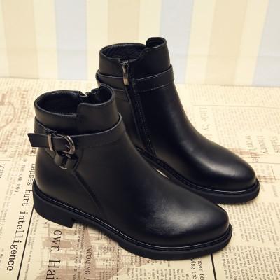 秋と冬 新しいデザイン フラット 女性靴 ソフ...
