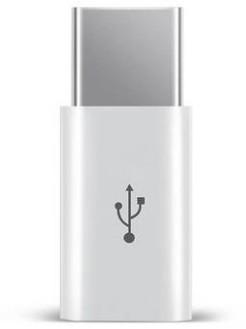 お試し【Type C USB 充電器へ micro-USB 変換コネ...