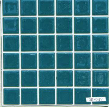 DIY Tile 貼れる君 23ミリ角 コバルト色 ...
