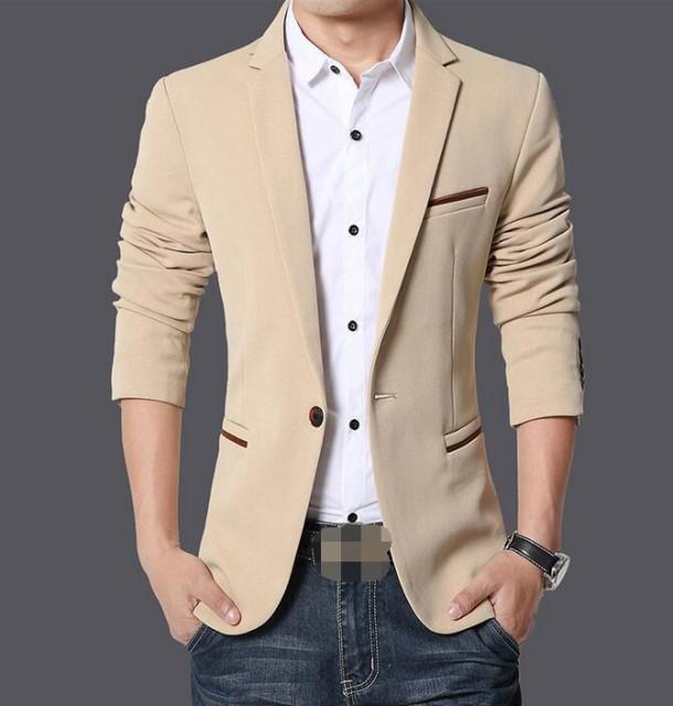 4色 メンズファッション コート メンズ コート...