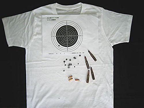 ライフルダメージT-シャツ・・無造作に穴が開い...