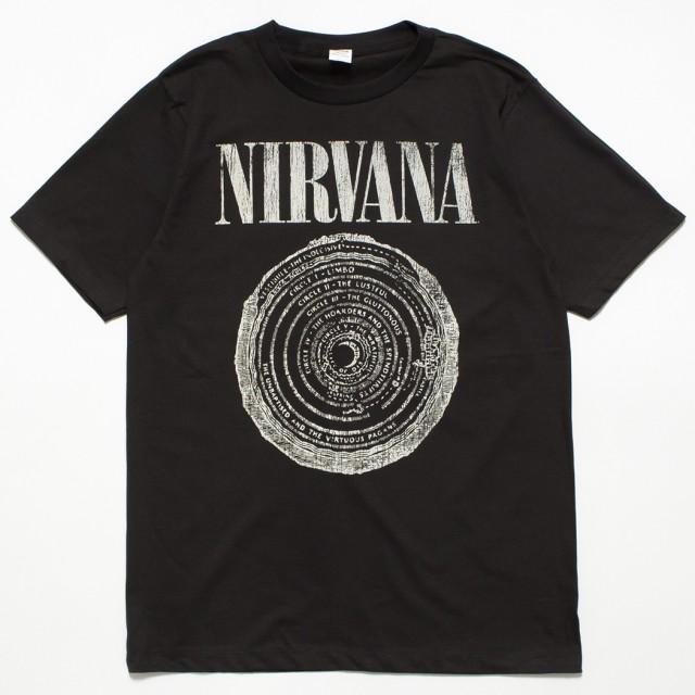 ヴィンテージ風 ロックTシャツ Nirvana ニルヴァ...