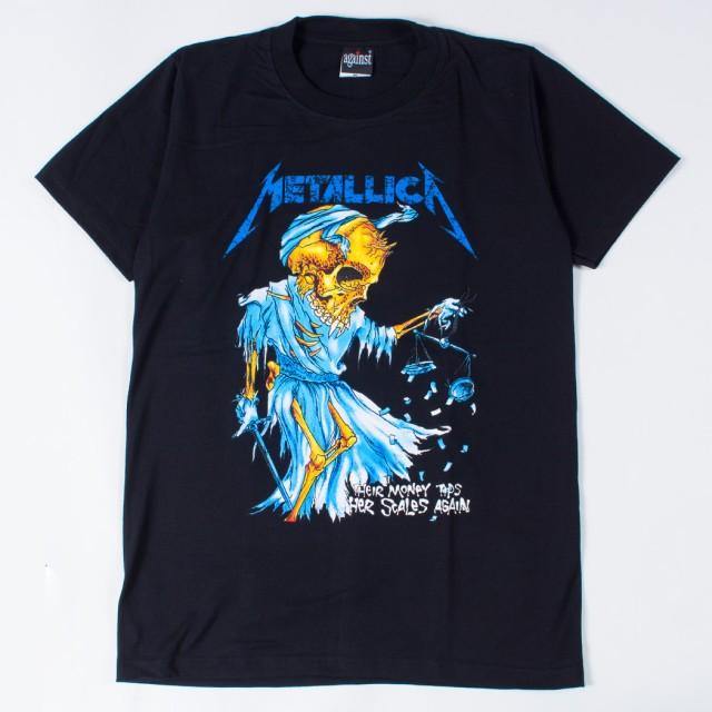 ロックTシャツ Metallica メタリカ Their money t...