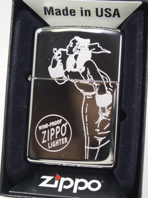 ジッポーZippo 1937 Windy ウィンディー ガール/V...