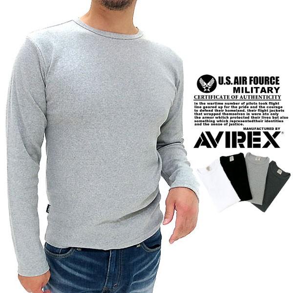 【AVIREX】【長袖】【Tシャツ】【インナー】長袖 ...