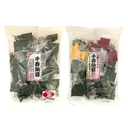 【送料込み】 成城石井 手巻納豆 プレーン&三種...