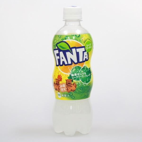沖縄限定 ファンタ シークヮーサー 500ml